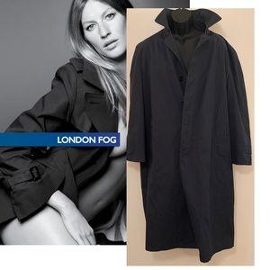 London Fog Unisex Raincoat w Liner 44L Size